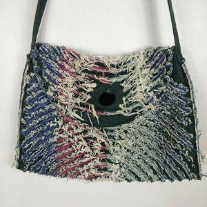5ebbb2455 handmade Bags | Denim Crossbody Festival Boho Purse | Poshmark